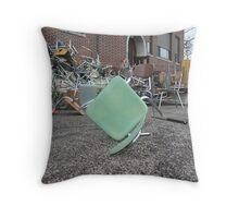Schoolyard, Graveyard. Throw Pillow