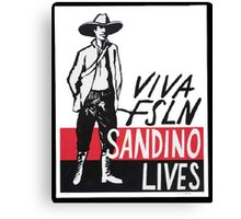 Sandino Lives! Canvas Print