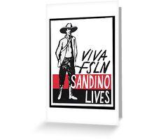 Sandino Lives! Greeting Card