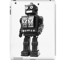 retro robot iPad Case/Skin