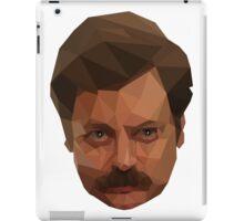 Ron Swanson Low Poly iPad Case/Skin