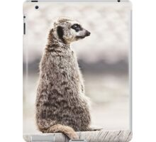 Meerkat Lookout iPad Case/Skin