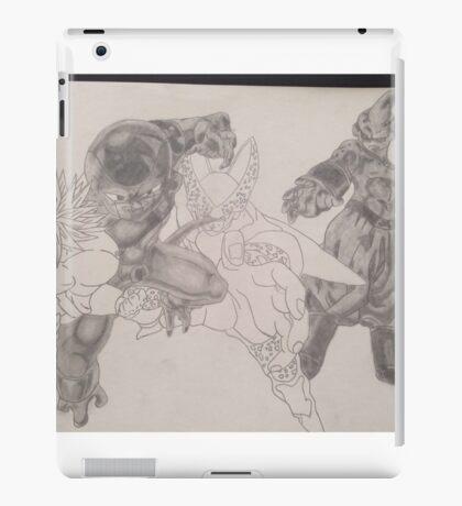 2 villians shaded 2 to go  iPad Case/Skin