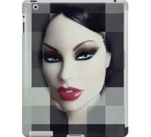 Doll with red mouth iPad Case/Skin