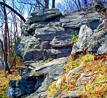 outcropping Gambril State Park by mychaelalchemy