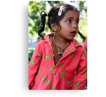 Children of Nepal - Wonder Canvas Print