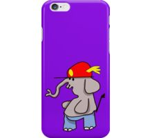 Ellie with red cap and pants iPhone Case/Skin