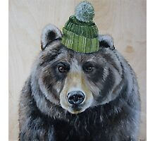 Bearly Warm Photographic Print