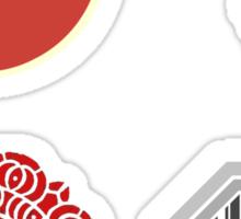 Legend Of Korra Villians Logo Sticker