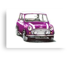 1991 Rover Mini Cooper  Canvas Print