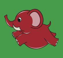 Plumpy Elephant Kids Tee