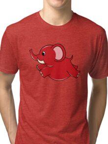 Plumpy Elephant Tri-blend T-Shirt
