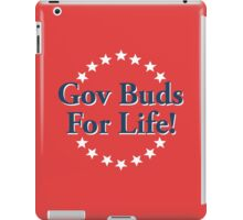 Parks and Recreation – Gov Buds for Life! iPad Case/Skin