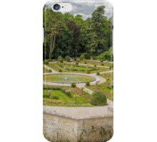 Garden of Diane de Poitiers, Chateau de Chenonceaux, Loire Valley, France #3 iPhone Case/Skin