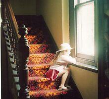 Little Sister Pondering by Richard  Willett