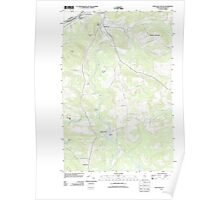 Maine USGS Historical Map Fort Kent South 20110831 TM Poster