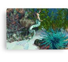 Her Paradise Canvas Print