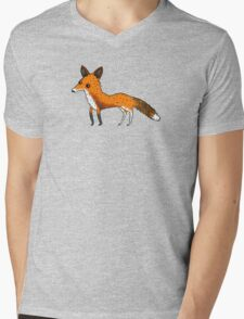 Fox Mens V-Neck T-Shirt