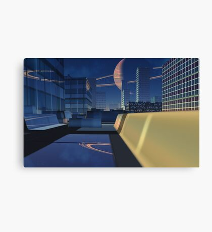 Reflected Space Canvas Print