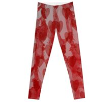 Hearts and Feathers Leggings