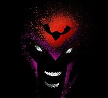 Paint Splatter Villaines : Magneto by Arian Noveir
