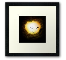 Sunshine Happiness Framed Print