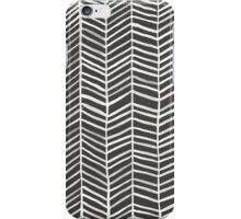 Herringbone – Black & White iPhone Case/Skin