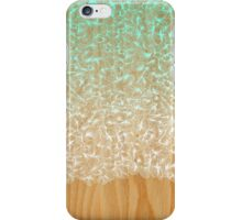 Abstract Pattern on Wood iPhone Case/Skin