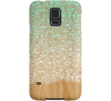 Abstract Pattern on Wood Samsung Galaxy Case/Skin