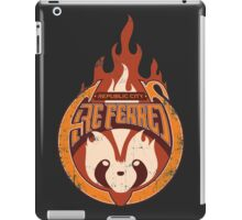 Vintage - Republic City Fire Ferrets iPad Case/Skin