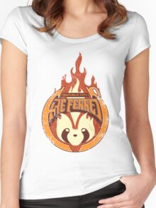 Vintage - Republic City Fire Ferrets Women's Fitted Scoop T-Shirt