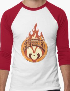 Vintage - Republic City Fire Ferrets Men's Baseball ¾ T-Shirt