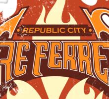 Vintage - Republic City Fire Ferrets Sticker