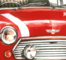 1991 Rover Mini Cooper  Sticker