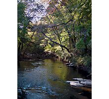 In my BackYard its a River Photographic Print