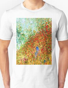 Crimson Autumn-Available As Art Prints-Mugs,Cases,Duvets,T Shirts,Stickers,etc Unisex T-Shirt
