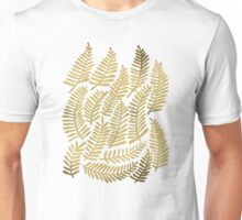 Gold Fronds Unisex T-Shirt