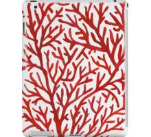 Red Coral iPad Case/Skin