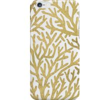 Gold Coral iPhone Case/Skin