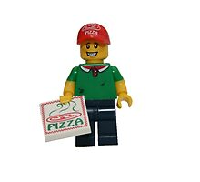 LEGO Pizza Delivery Guy by jenni460