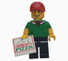 LEGO Pizza Delivery Guy Kids Clothes