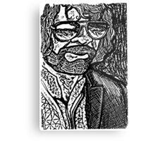 Jeff Lynn Portrait Metal Print