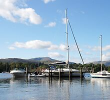 Lake Windermere, Ambleside by Julie M Gibson