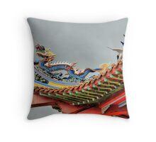 Dragon, Kuala Lumpur Throw Pillow