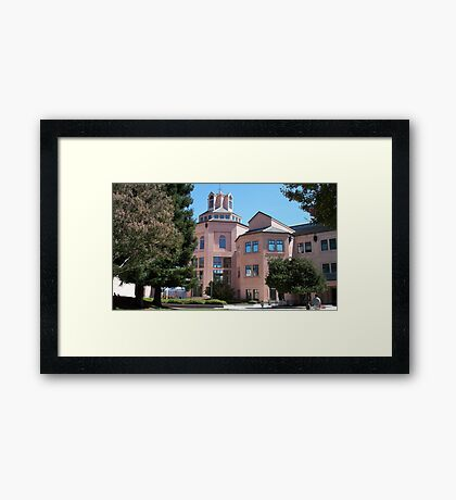 City Hall in Mountain View Framed Print