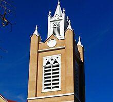 San Felipe De Neri Church, Albuquerque, New Mexico by Tom Harrington
