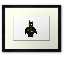 LEGO Batman Framed Print