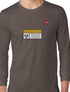 I.T HERO - Security Notice Long Sleeve T-Shirt