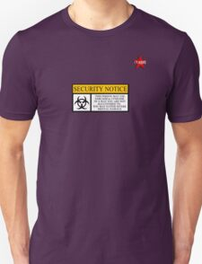 I.T HERO - Security Notice T-Shirt