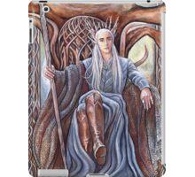 King on his throne iPad Case/Skin